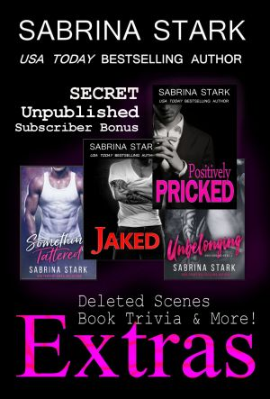 Extras - Deleted Scenes, Book Trivia & More by Sabrina Stark